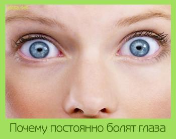 что делать когда болит глаз