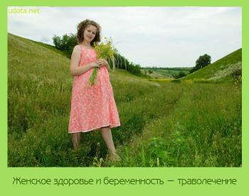 лечение травами беременность