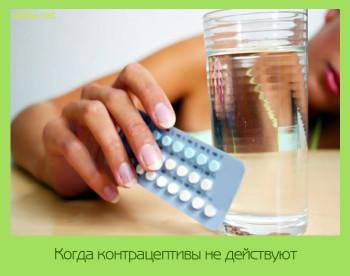 как действуют противозачаточные таблетки