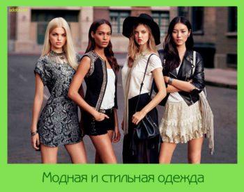 Модная и стильная одежда