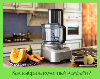 Как выбрать кухонный комбайн?